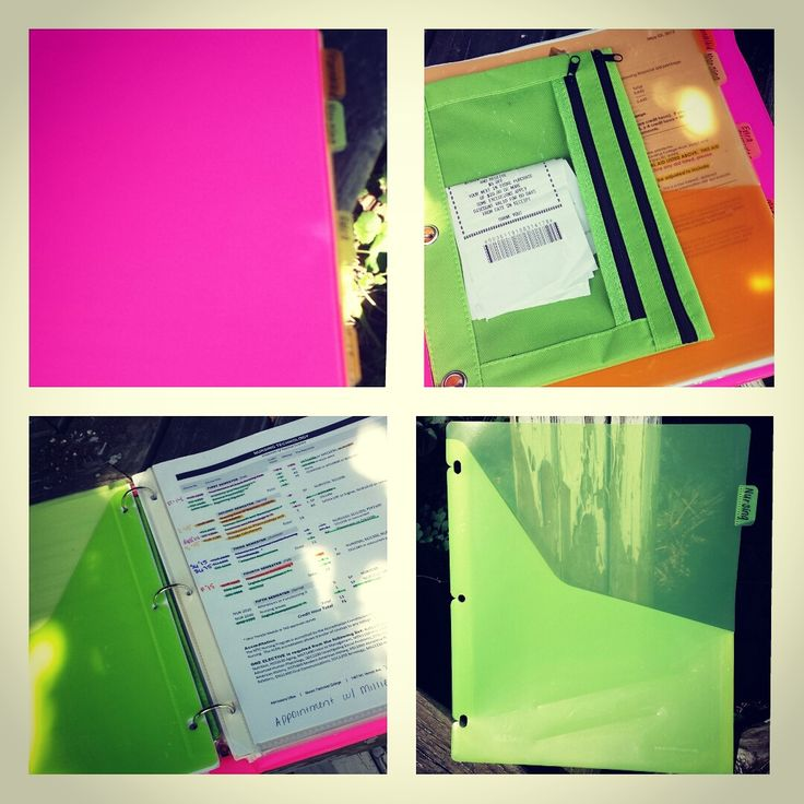 Nursing School Binder how to organize it and what to ...