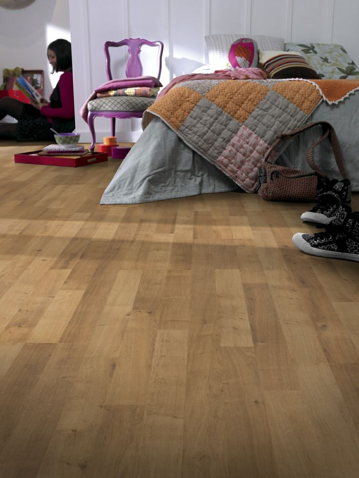 #Laminate #wood #flooring perfectly created for your #rooms. With high  resistance
