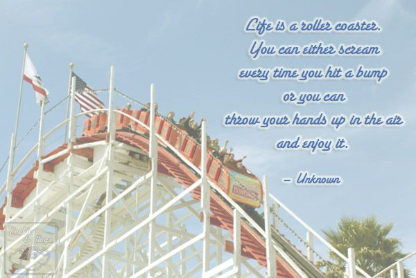 life is a roller coaster Quotes Pinterest