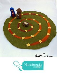 Adventsspirale, Adventskalender gefilzt von der ilsa-T https://www.amazon.de/dp/B01M0E29LS/ref=hnd_sw_r_pi_dp_IS99xbPDCYPXA #handmadeatamazon