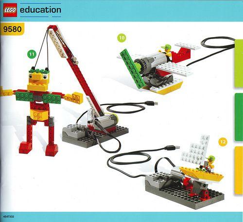 LEGO WeDo  Met de WeDo constructieset kunnen leerlingen eenvoudige LEGO modellen bouwen en deze programmeren via de computer.  De sets zijn geschikt voor basisschoolkinderen van 7 tot 11 jaar, waarbij ze leren bouwen en programmeren door middel van probleem oplossende activiteiten. LEGO Education WeDo zorgt voor een uitdagende leeromgeving waarin kinderen creatief moeten denken, met teamwork en probleem oplossende vaardigheden.