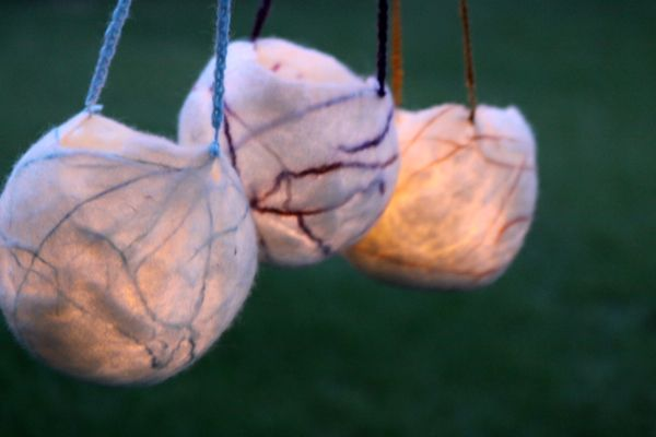 how to make felted lanterns for martinmas three waldorf inspired moms
