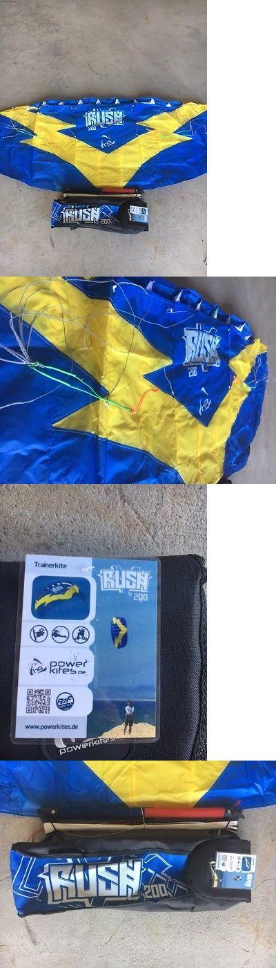 Kites Lines 114264: Hq Rush V 200 Trainer Power Kite, Foil, Kitesurfing, Boarding, Bar -> BUY IT NOW ONLY: $80 on eBay!