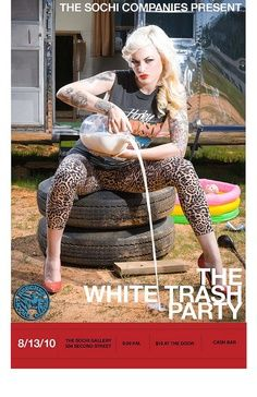 White Trash Costume Ideas for Women | White Trash Party '10 by The SoChi Companies, via Flickr