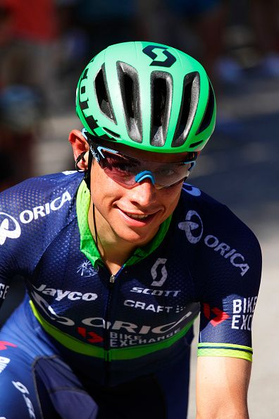Johan Esteban Chavez Stage 3 Vuelta España 2016