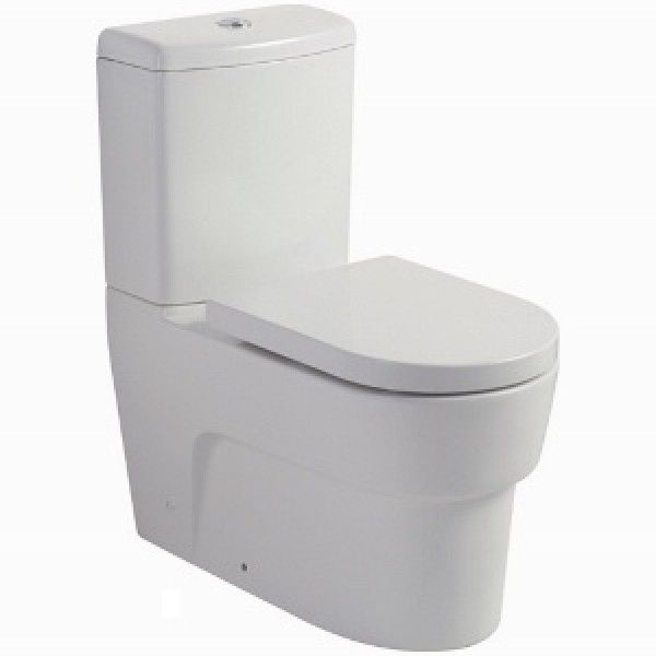 Johnson Suisse Heart Back To Wall Toilet Suite