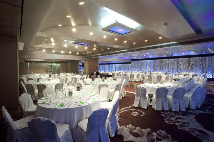 """When the design is inspired by nature, the outcome can only be fashionable and stylish! The """"Silver Forest"""" banquet room is here to please its most demanding visitors. http://www.rbathenspark.com/"""