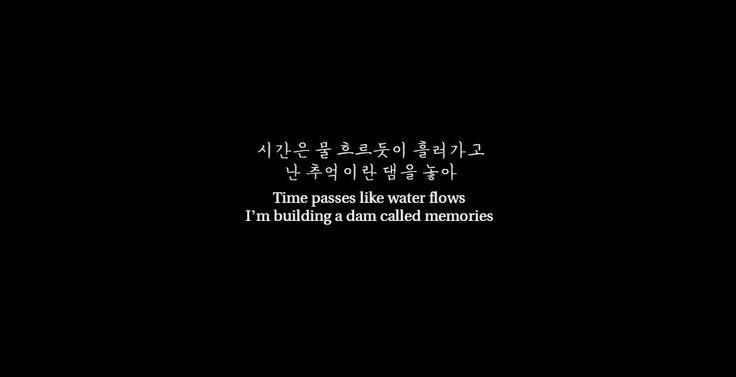 "k-lyrics-xox: "" -Time and Fallen Leaves, AKMU- """