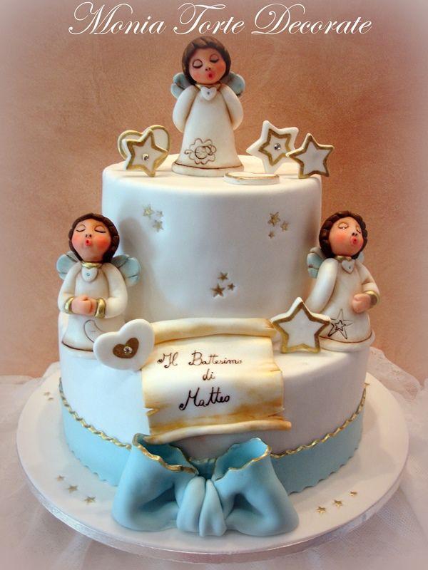Monia Torte Decorate - Nascita e Battesimo
