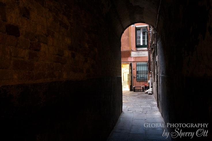 Secret archway