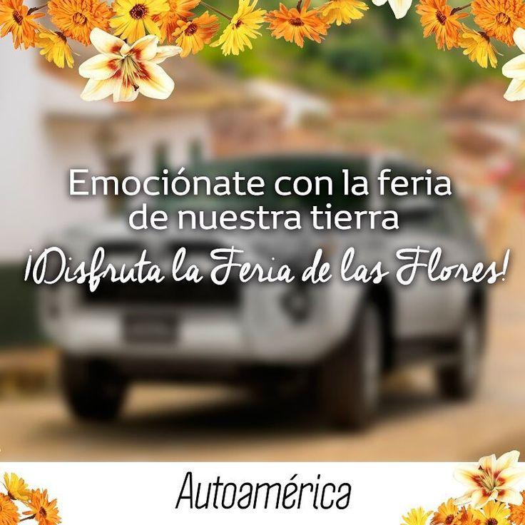 En #Autoamérica vivimos la vida con emoción. Te invitamos a disfrutar la #FeriaDeLasFlores con toda la pasión y emoción que sientes por esta tierra. ¡La tierra por dónde vas en tu #Toyota!    #ToyotaEsToyota #Autoamérica #ToyotaColombia #Toyotero #Toyotalover #OffRoad #TeamToyota #ToyotaNation #Toyoteros #4x4 #Toyota #MantenimientoExpress #quickrepair #RepuestosGenuinosAutoamérica #ARB #ARBColombia #Solucar #OldManEmu #AeroKlas #MileMarker #HinoColombia #Hino #HinoToyota #HinoAutoamérica
