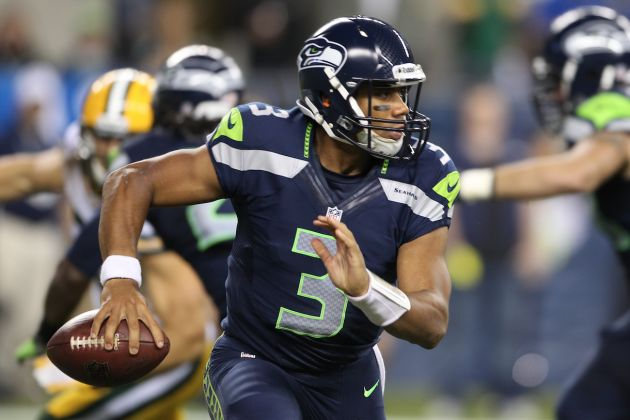 Green Bay Packers vs. Seattle Seahawks: Live Score, Highlights and Analysis : Russell Wilson