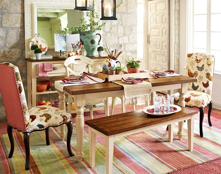 French Country Chic Dining Room Pier 1