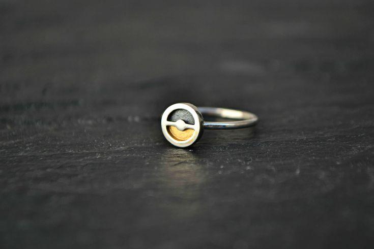 Pokemon Ring, Pokemon Pokeball Jewelry, Geeky Nerdy 925 Sterling Silver Pokemon Go Jewelry Ring by GeekMeABreak on Etsy https://www.etsy.com/listing/517279075/pokemon-ring-pokemon-pokeball-jewelry