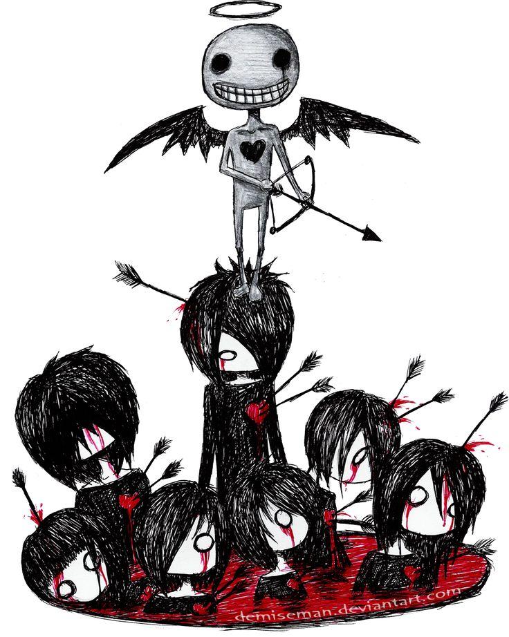 The Valentine's Day massacre by DemiseMAN.deviantart.com on @deviantART