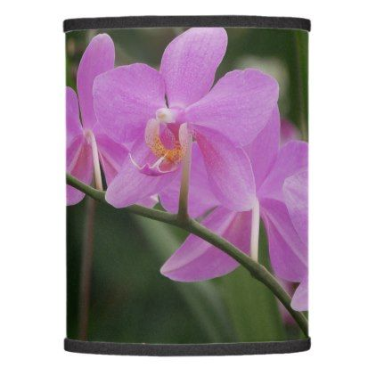 Moth Orchid Purple Flowers Lamp Shade - light gifts template style unique special diy