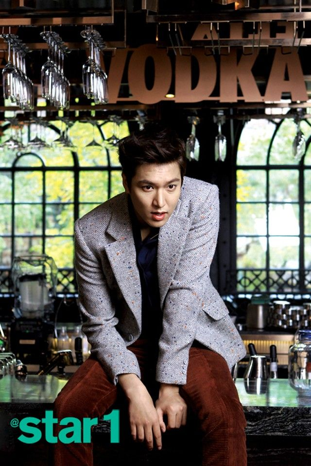 Lee Min Ho - @Star1 Magazine December Issue '12