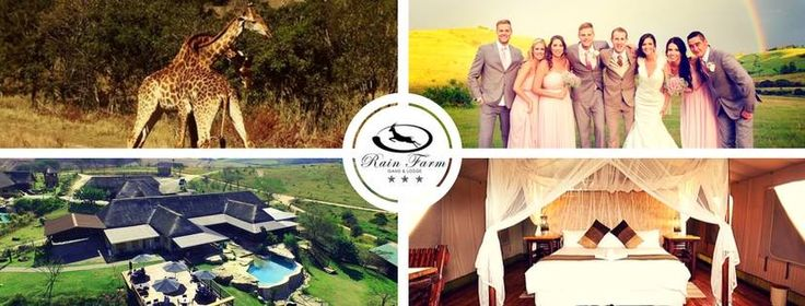 Rain Farm Game Lodge is a beautiful wildlife sanctuary that caters for day visits, getaways, conferences, weddings, parties and special events.