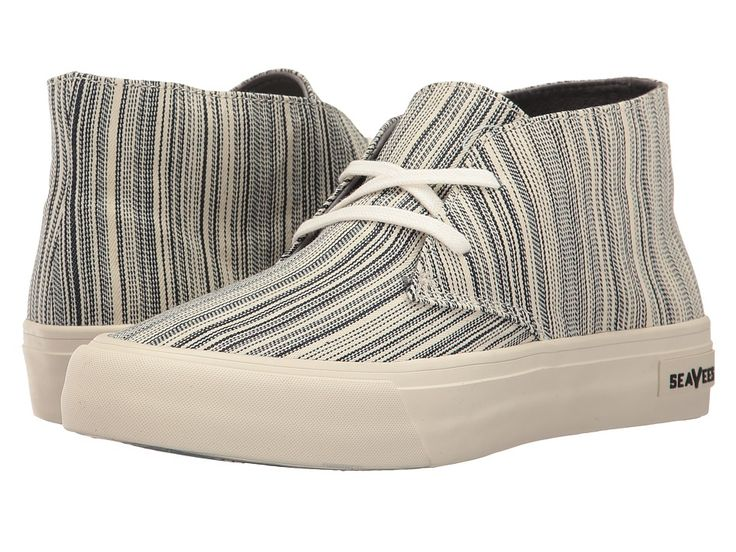 SEAVEES SEAVEES - 12/62 MASLON DESERT BOOT (ENGINEER STRIPE) WOMEN'S BOOTS. #seavees #shoes #