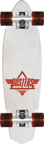 Discount Cheap Dusters Ace Cruiser Complete Skateboard (White/Red, 24-Inch) - http://brazilequipment.com/cheap-dusters-ace-cruiser-complete-skateboard-whitered-24-inch/
