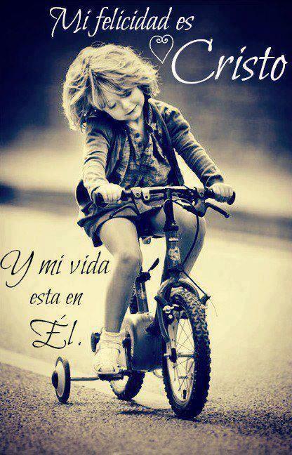 Mi felicidad es Cristo!!! /Frases ♥ Cristianas ♥
