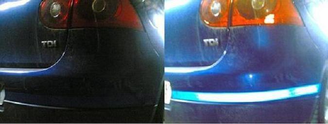 Prevención de alcances trasero-laterales en condiciones adversas de iluminación a través de la ubicación de dos pegatinas reflectantes homologadas en el parachoques trasero del color de cada vehículo.