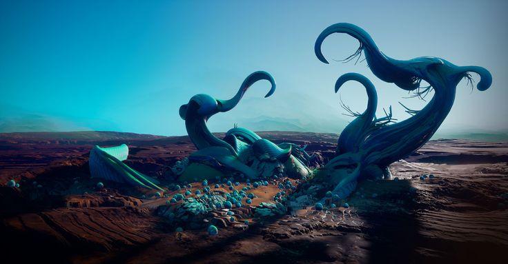 ArtStation - Strange worlds 01, Tyler Smith