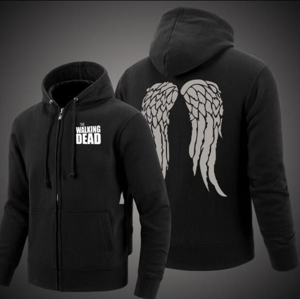 Hot New Autumn Winter Fashion The Walking Dead Cotton Zipper Hood Fleeces Hoodies Free Shipping //Price: $61.23 & FREE Shipping //     #lucille