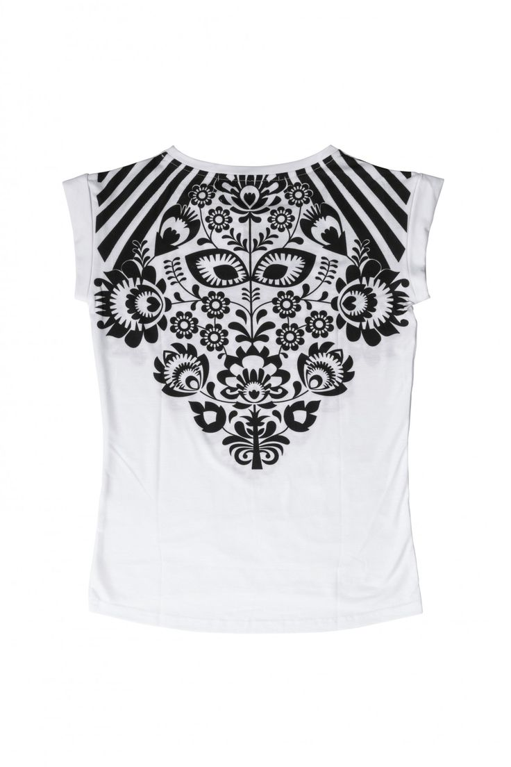 Bluza z folkowym motywem - MORE'MOI - 127682