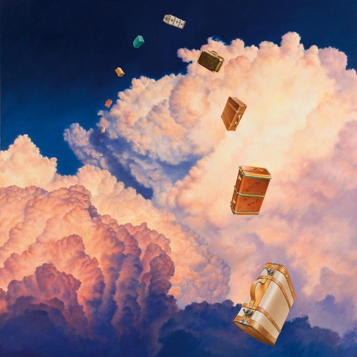 "Saatchi Online Artist: Matthew Quick; Oil, 2010, Painting ""Pure Aspiration"""
