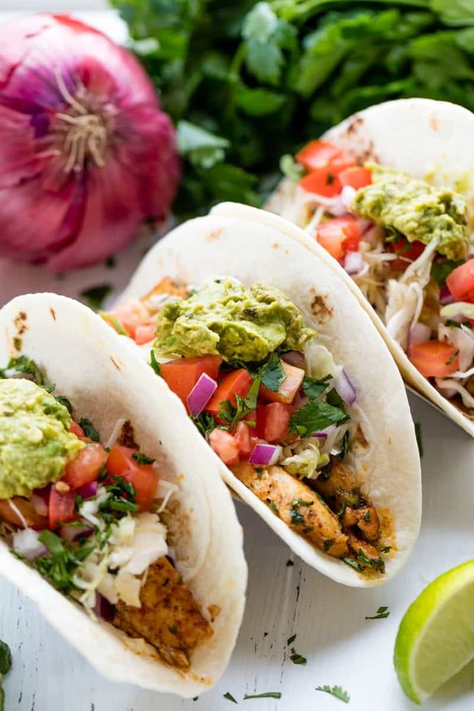 Easy Fish Tacos Healthy Dinner Ideas For Kids Popsugar In 2020 Fish Tacos Recipe Fish Tacos Fish Recipes