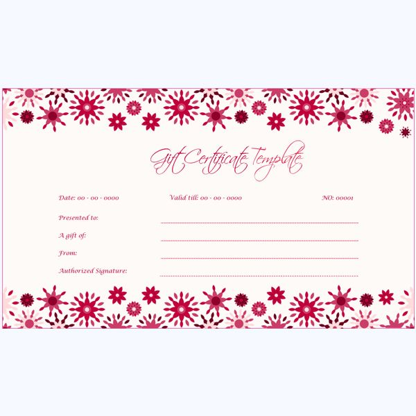 47 best Gift Certificate Templates images on Pinterest Gift - gift voucher template word free download