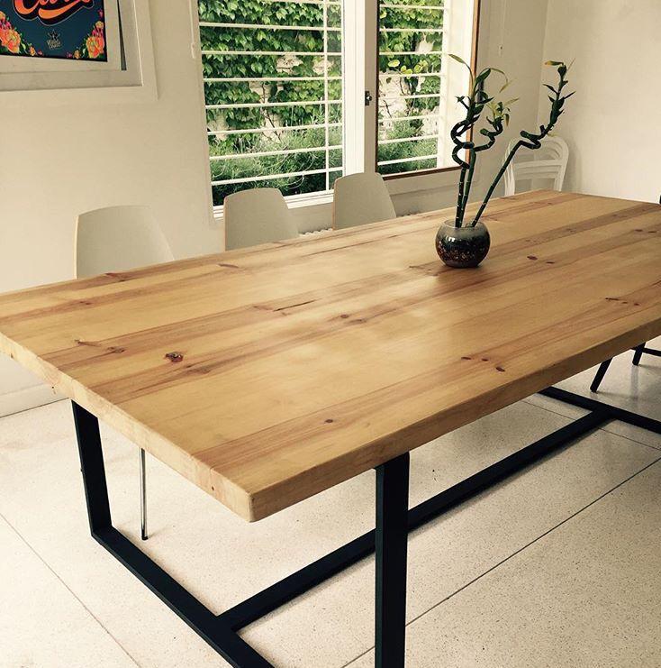 M s de 25 ideas incre bles sobre mesa de hierro en for Estructura de una cocina industrial