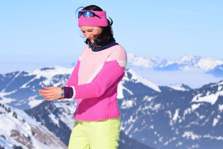Marpha Sweater de We Are Knitters: le pull de ski parfait!