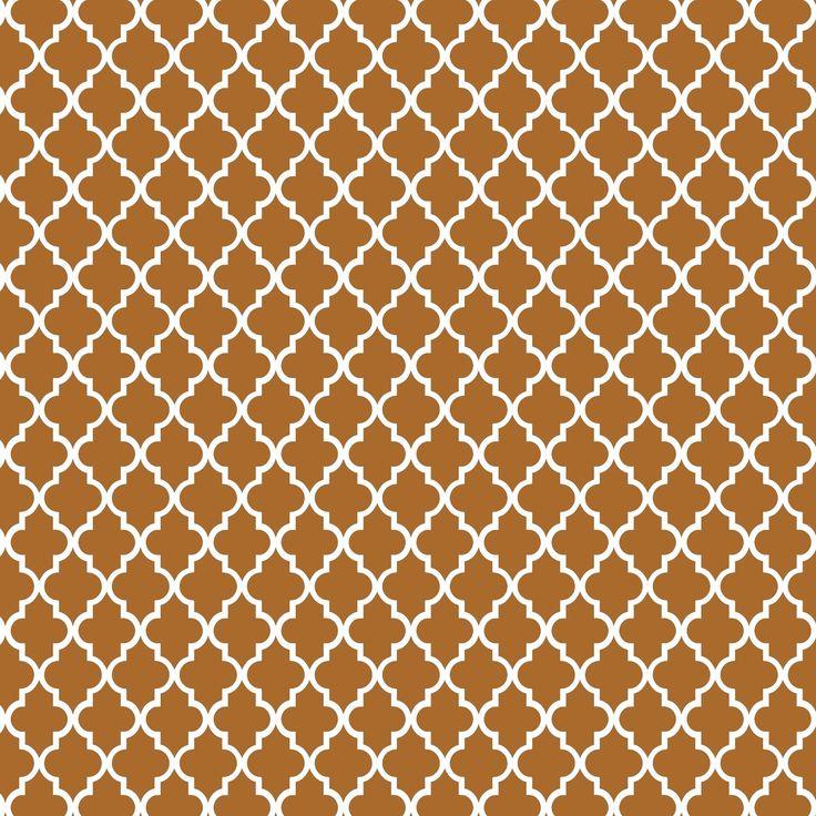motif marocain or