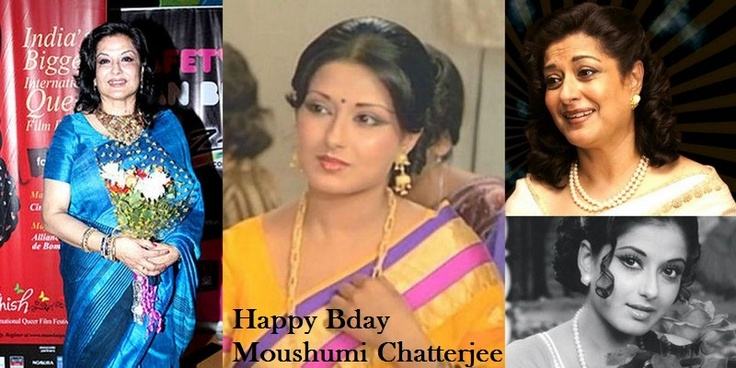 4 Veteran actress Moushumi Chatterjee is celebrating her Bday Today   Wishing Her a Very HAPPY BDAY