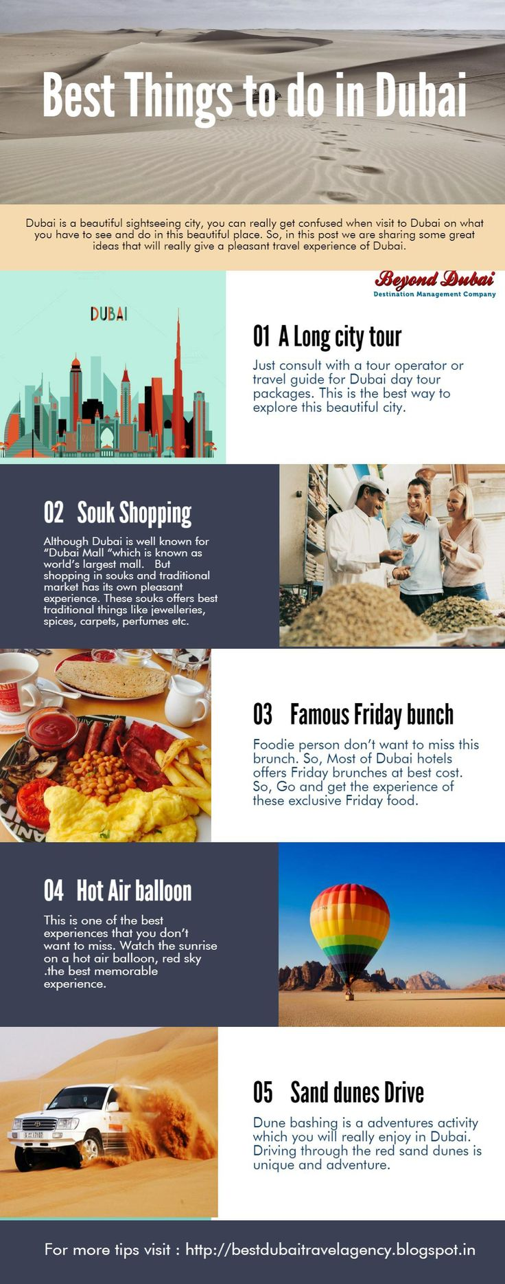 Dubai is one of the best tourist spot around the world.So, if you are planning to a vacation in Dubai, then you must have to know some basic things to do.