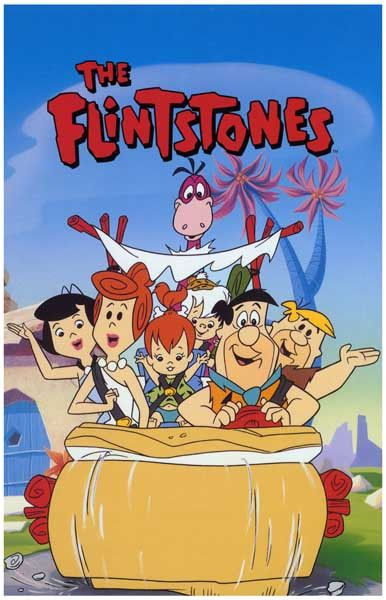 Flintstones...Meet the Flintstones - They're a modern stone-age family! A great poster of the cartoon cast. Ships fast. 11x17 inches. Need Poster Mounts..?