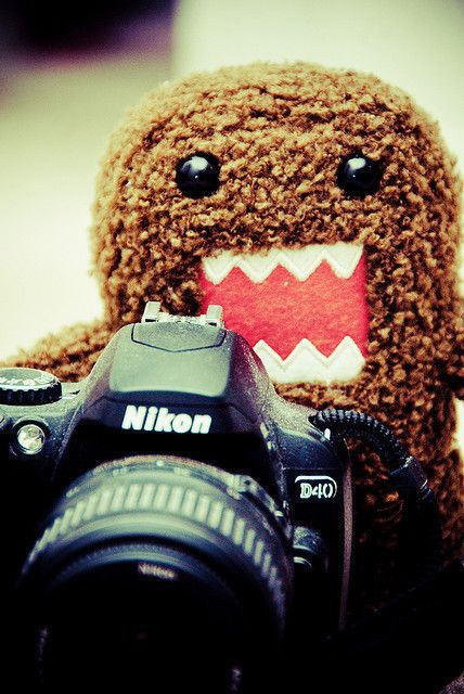 Photographer Domo-Kun   Cause I am that totally hopeless photo geek, with an uncontrollable, excessive child-like excitement & that is often an entirely engulfing, distracting, or otherwise, all consuming obsession.