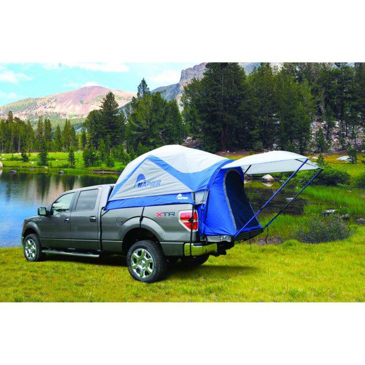 Napier Outdoors Sportz #57077 2 Person Truck Tent, Mid Size Short Bed, 6 - 6.5 ft. - 57077