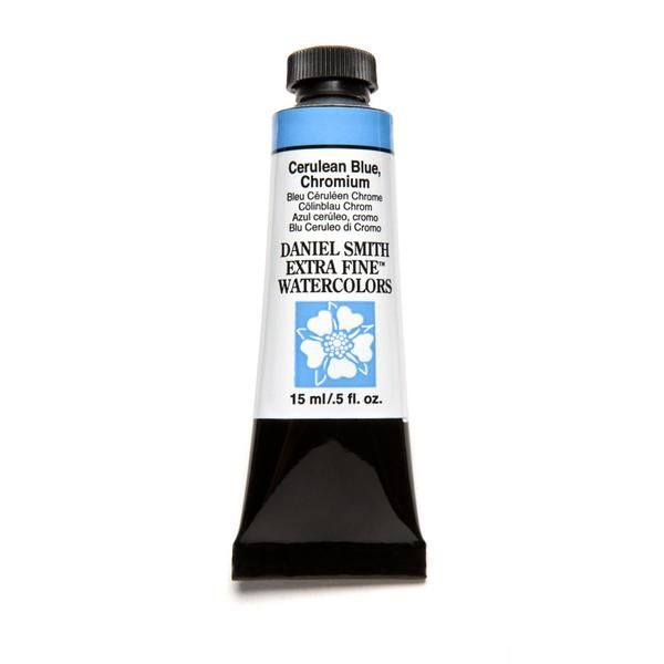 Cerulean Blue Chromium Daniel Smith Extra Fine Watercolors 15ml