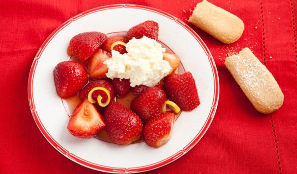 Strawberries with Limoncello - In the Kitchen with Stefano Faita