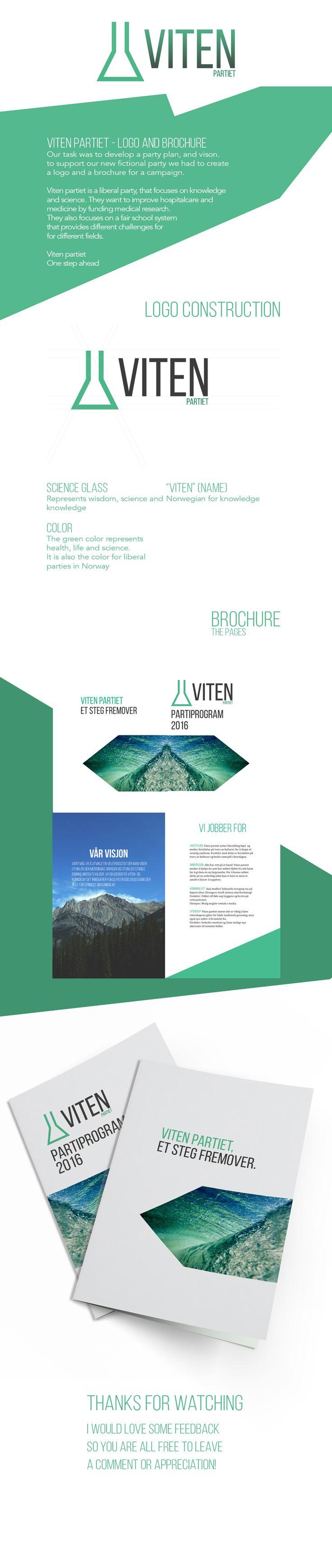 VITEN - Logo and Brochure on Behance