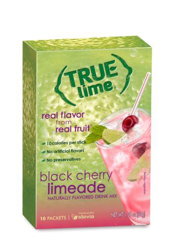 True Citrus - Limeade - Black Cherry - 10 packets