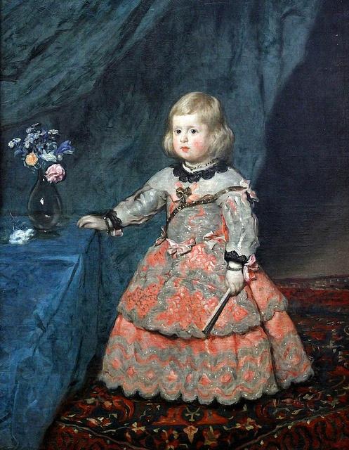 Velázquez, Infanta Margarita Teresa by f_snarfel, via Flickr