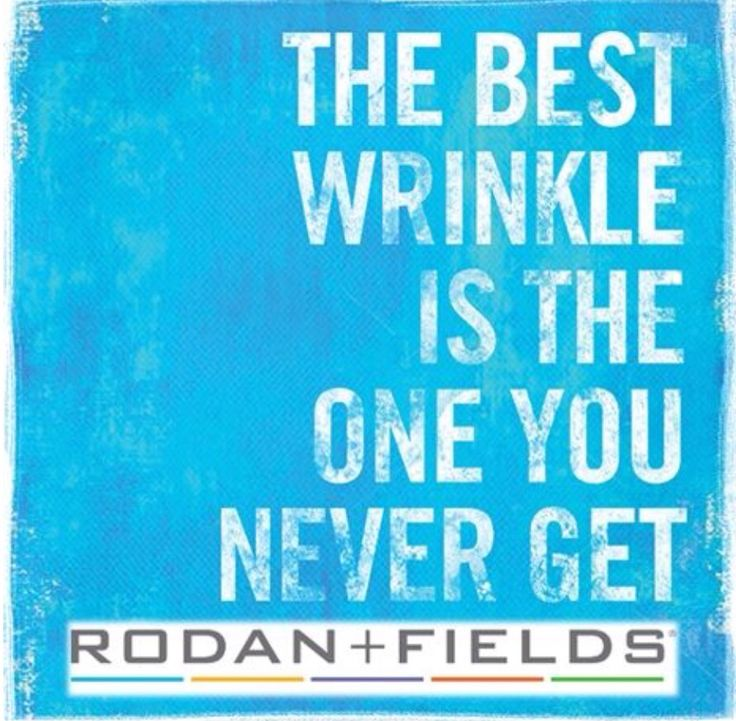 True! Start your journey with Rodan + Fields premium skincare to get & keep the best skin of your life! Remember, it's never too early or too late to begin!!! Visit my website and take the Drs Solution Tool & get a custom recommendation from the Drs & start your journey to great skin today! Message me with questions :)