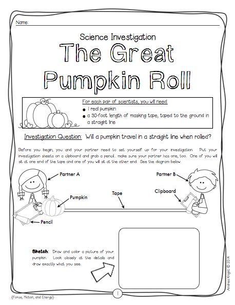 1000+ images about First Grade Pumpkin Theme on Pinterest ...