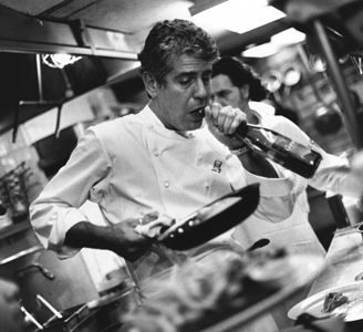 Anthony Bourdain-extreme chef, world traveller, food critic and will eat ANYTHING for a good story