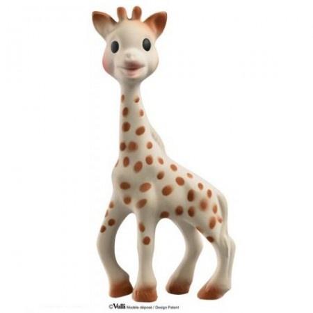 Жирафа Софи В нашем интернет-магазине вы можете купить развивающую игрушку Жирафу Софи, завоевавшую доверие родителей во всем мире. Состав: каучук - 100%. Размер: 18 см. Дизайн разработан компанией Vulli, Франция. Страна производства: Франция. Товар сертифицирован в Украине.