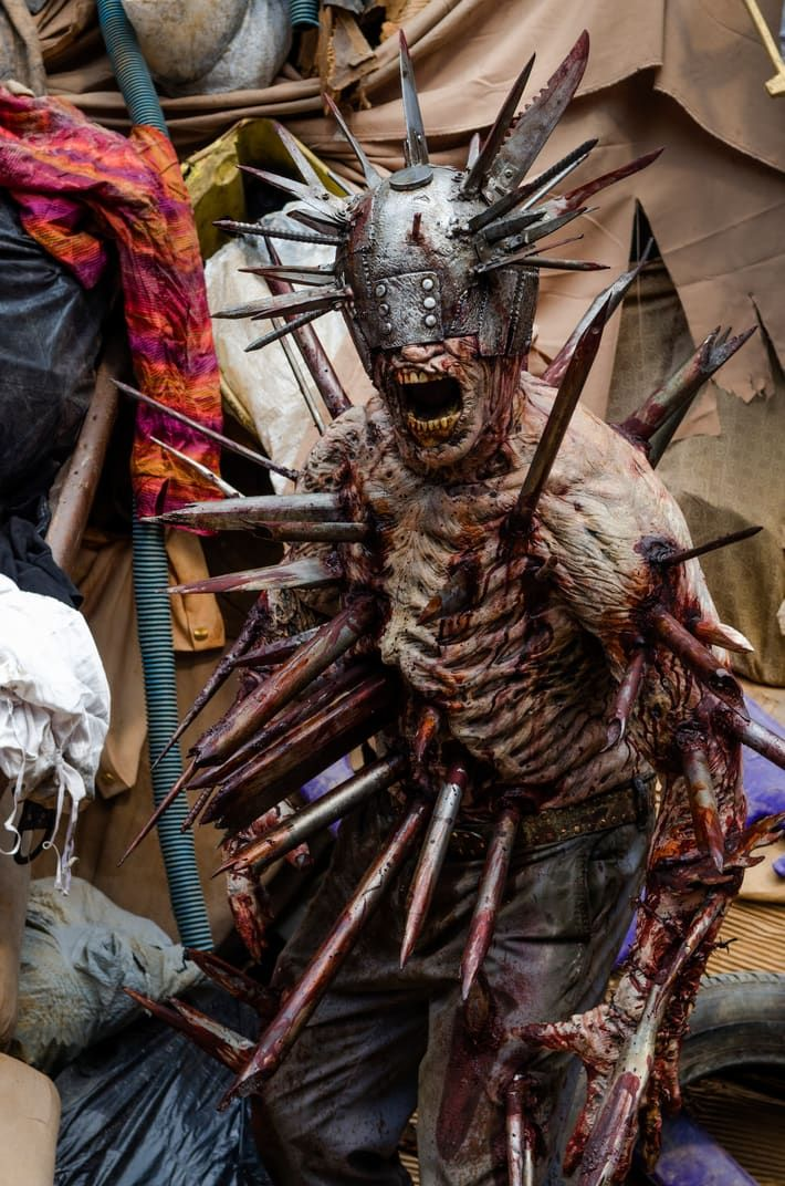 We need to talk about how awesome Winslow the walker was in #TWD episode